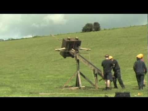 Huge Roman Catapulta - Tods Stuff was Head of Engineering