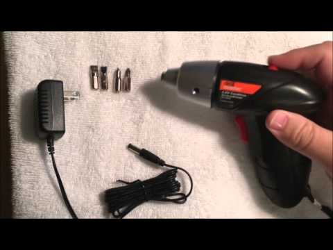 Dril Master Cordless Screwdriver Review