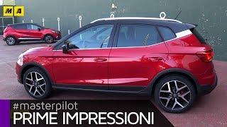 SEAT Arona, la B-SUV che sfida Renault Captur e Peugeot 2008 | Primo test [ENGLISH SUB]