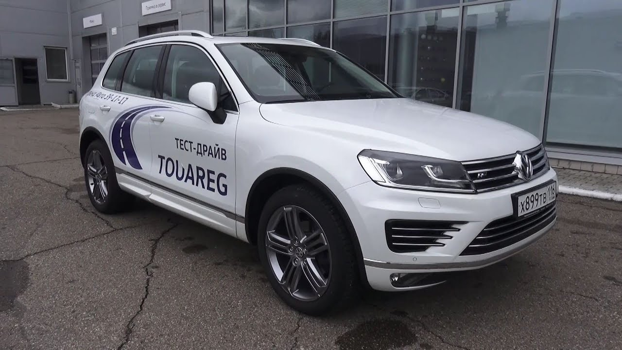 Best 4x4 Ever Volkswagen Toureg 2017 R Line Start Up Engine And In Depth Tour