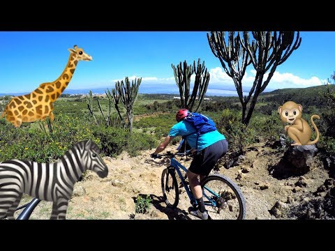 THE MOUNTAIN BIKE SAFARI | Riding in Hell's Gate National Park, Kenya