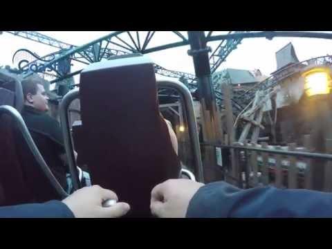 Taron Phantasialand Back Seat POV 4K New 2016