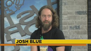 Comedian Josh Blue at the Funny Bone this weekend