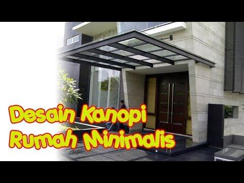 Model Kanopi Rumah Minimalis Modern Terbaru Bahan Baja Ringan Youtube