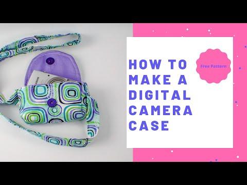 How to Make a Digital Camera Case