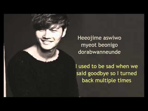 Kim Jong Kook-Men are all like that Romanization+ English Translation Lyrics