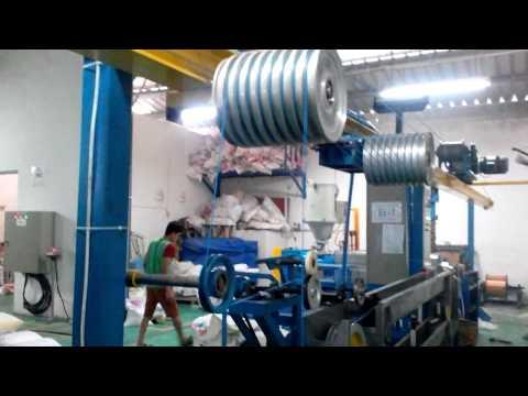 Mesin proses pembuatan kabel inti
