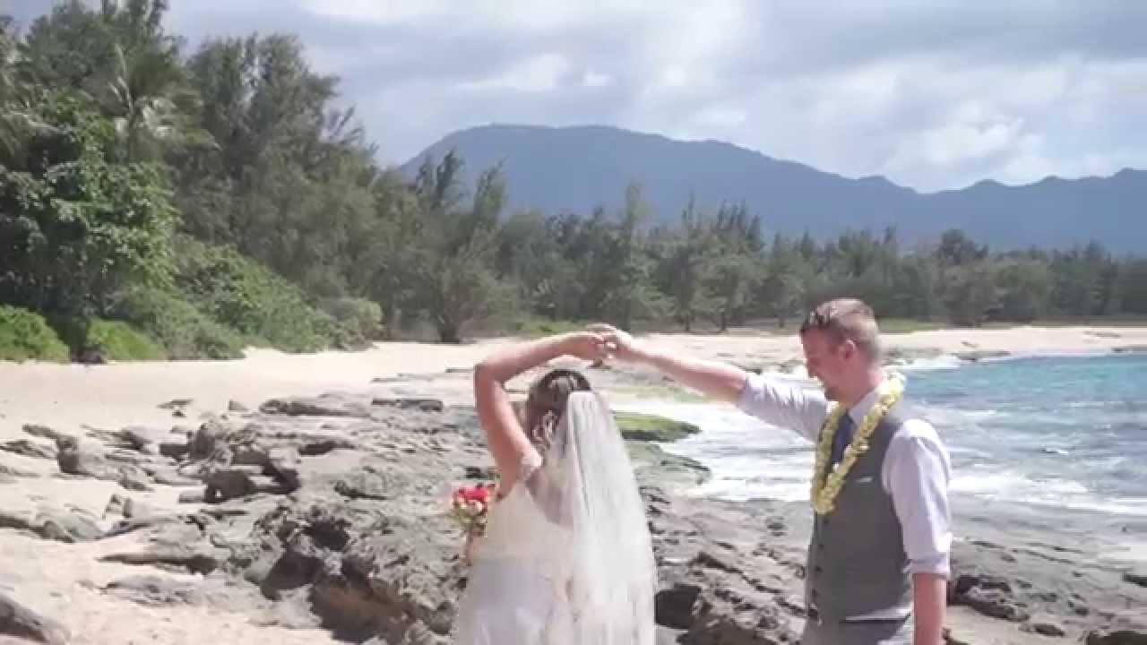 Arron And Laura Hawaii Wedding Video