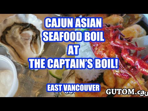 CAJUN ASIAN At THE CAPTAIN'S BOIL Seafood Restaurant - Vancouver Food Reviews - Gutom.ca