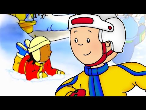 Cartoon | Caillou English Full Episodes - Caillou's Holiday 🎄 | NEW