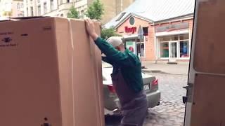 Trenažieru pārvietošanā pārvešana Перевозка тренажёра(, 2014-06-04T11:12:37.000Z)