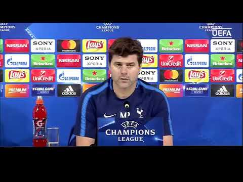 Tottenham press conference with Mauricio Pochettino & Harry Kane