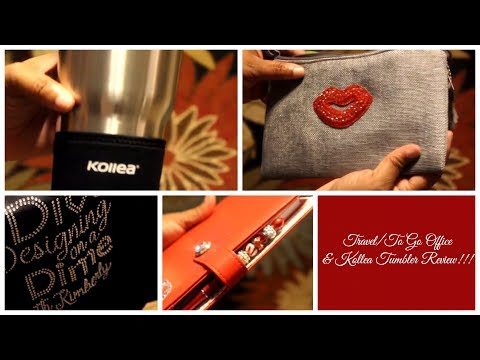 Travel | To Go Office and Kollea Tumbler Review!!!