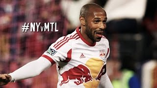 Thierry Henry single handedly pulls the Red Bulls back against the Montreal Impact