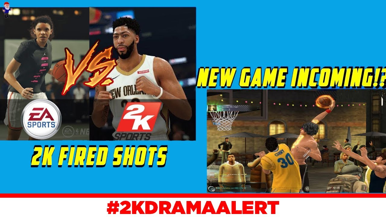 NBA 2K CLOWNS EA FOR CONTROVERSY (EA APOLOGIZES), NEW BASKETBALL GAME TEASED