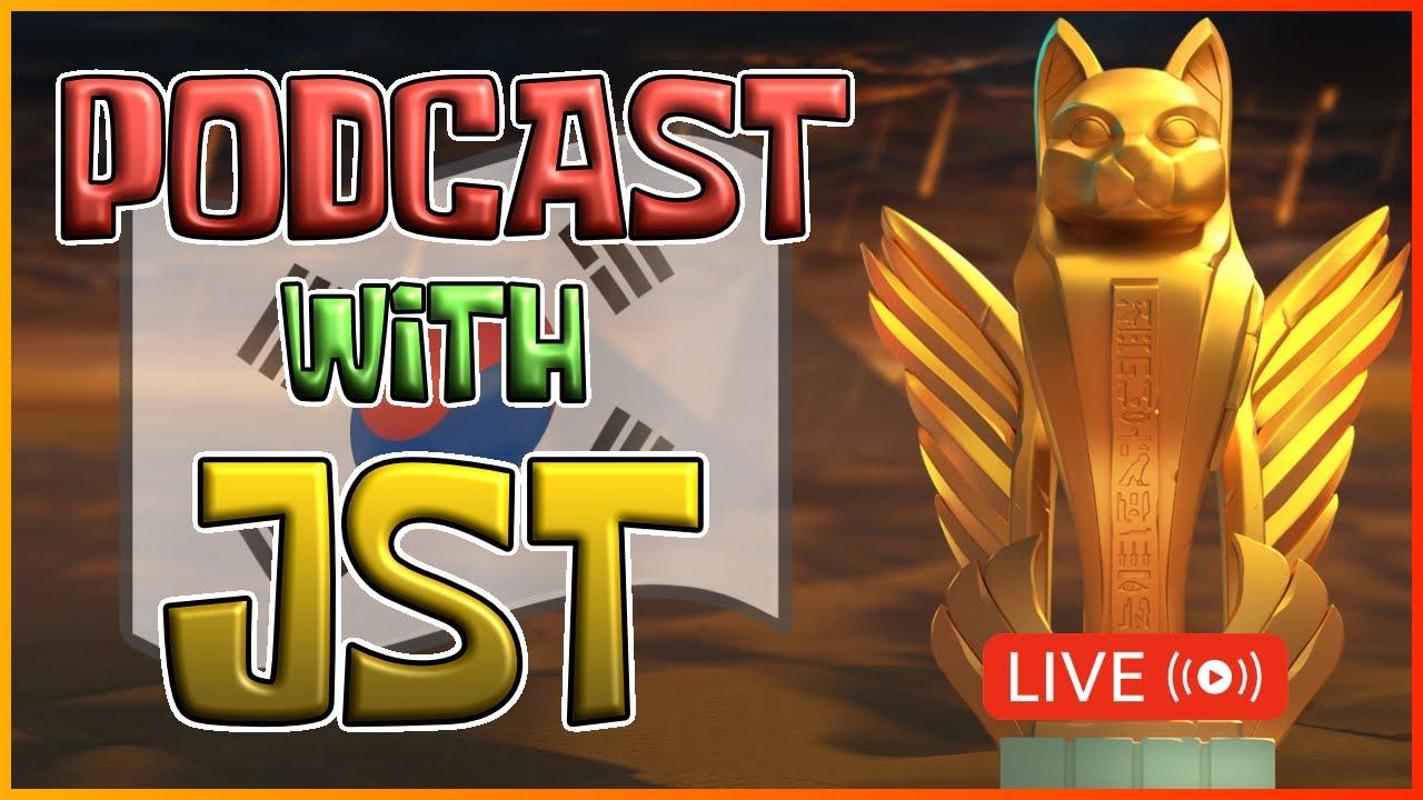 Download Podcast with JST: Korean League & Drama 🔴| JST와 인터뷰합니다 | Rise of Kingdoms