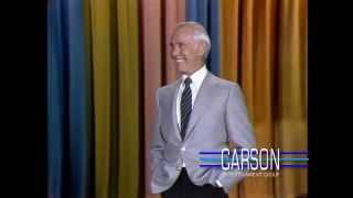 Johnny Carson talks about an overturned beer truck on the Ventura Freeway