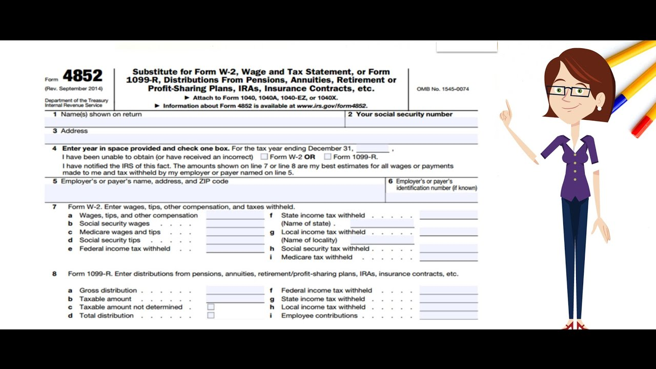 Form W 2 And Form 1099 R What To Do If Incorrect Or Not Received