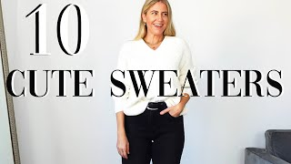 10 CUTE SWEATERS FOR FALL/WINTER 2020- TRY ON!