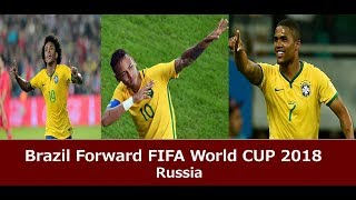 Brazil Forward Skills/ FIFA World Cup Russia 2018 (Official Video) Neymar, Willian, Costa, Firmino