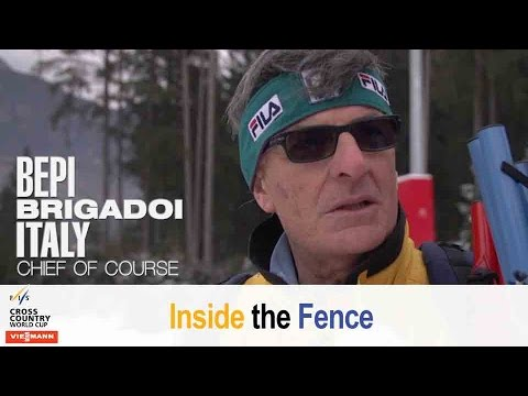 Making alpe cermis nordic - fis cross country - inside the fence