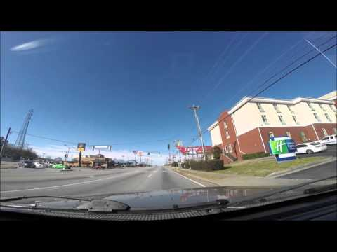 Jan 22, 2016 Driving to North Georgia Mountains Blue ridge time lapse