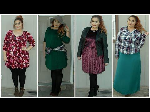 The Curvy Diaries: Winter into Spring Fashion Lookbook | Plus-Size. Http://Bit.Ly/2KBtGmj