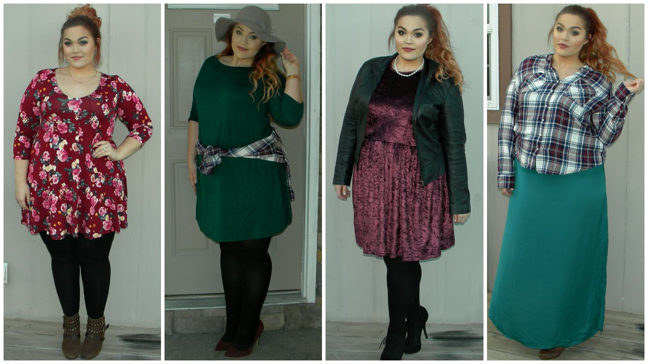 The Curvy Diaries Winter Into Spring Fashion Lookbook Plus Size Youtube