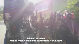 Karnaval Maulid Nabi Madin Nurul Huda Tanjungrejo Tongas Probolinggo (24/12/2016)