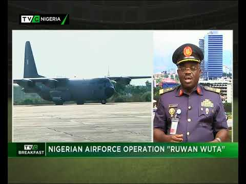 TVC Breakfast 28th September 2017 |  Nigerian Air Force Operation 'Ruwan Wuta'