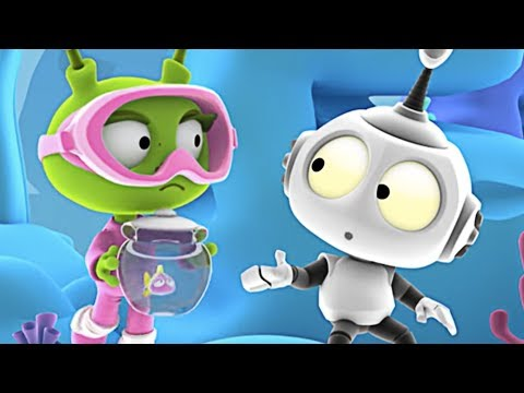 Find A Home | Rob The Robot Compilation | 3D Cartoons For Kids