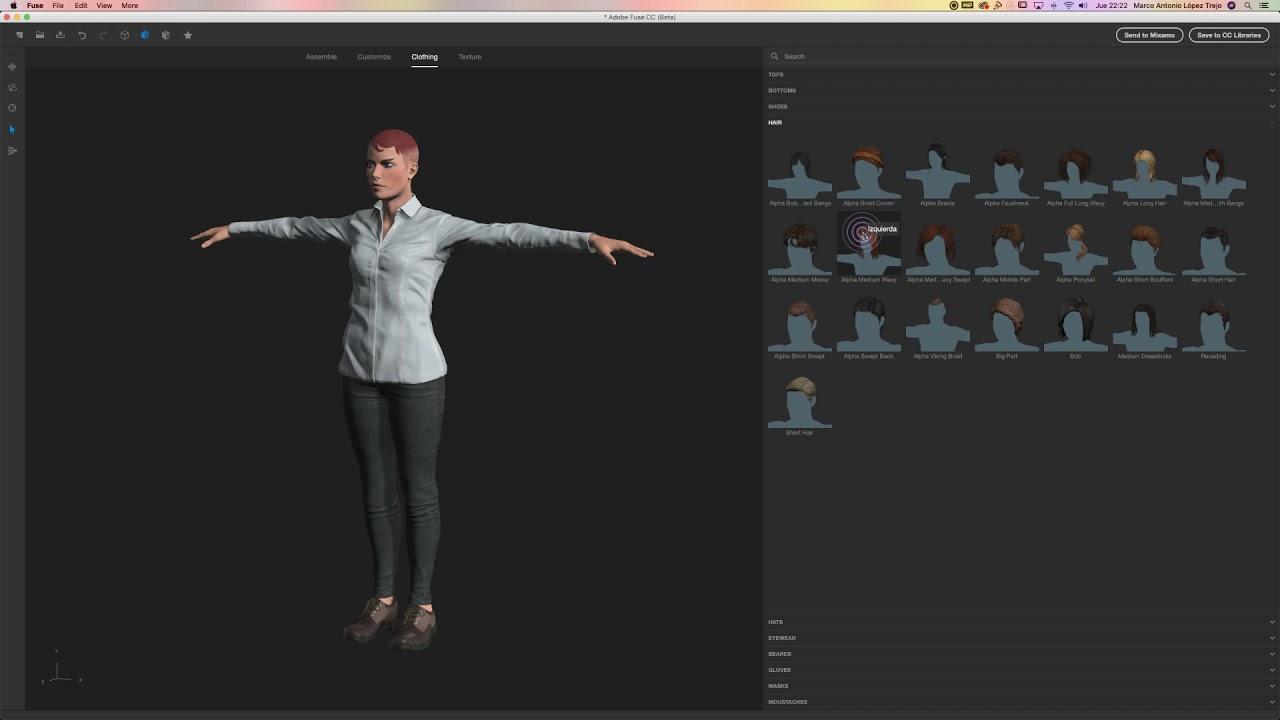Adobe Fuse para principiantes