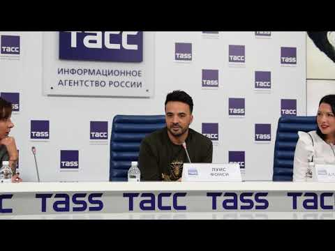 Luis Fonsi new interview in the Moscow 2018