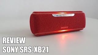 Review Sony SRS-XB21 Nuevo Altavoz Bluetooth Portatil 2018