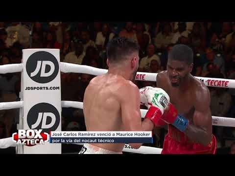 BoxAzteca | José Ramírez logra una victoria contundente ante Maurice Hooker