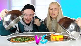 SQUISHY FOOD VS. REAL FOOD CHALLENGE 🤪