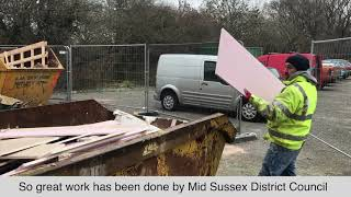 Local residents had their first chance to see how work is progressing on the new Hurstpierpoint C...