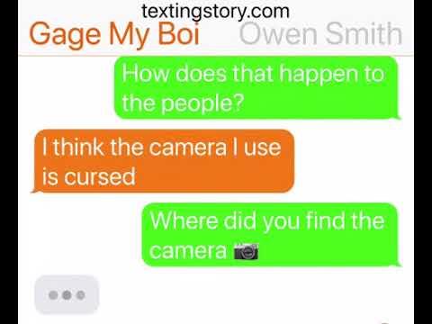 The camera—texting horror story