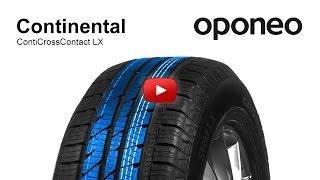 Reifen Continental ContiCrossContact LX ● Sommerreifen ● Oponeo™