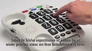 Produktvideo zu Schwerhörigen-Telefon Geemarc AmpliPOWER 50