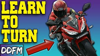 Quick Guide: How To Turn Safely On A Motorcycle