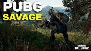 PUBG Savage is Fast and Fun - Best Map?!?