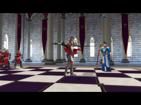 Battle Chess Game of Kings: Dancing Knight against Bishop |