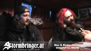 SOULFLY vs. INCITE: VIDEO Interview with Max & Richie CAVALERA