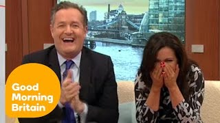 Susanna Reid Cracks Up At Awkward Charlie Stayt Moment | Good Morning Britain