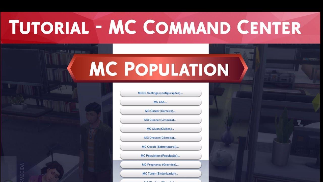 Tutorial MC Command Center - MC Population