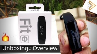 SAMSUNG GALAXY Fit-e Fitness Band Overview and First Impressions - Good But EXPENSIVE
