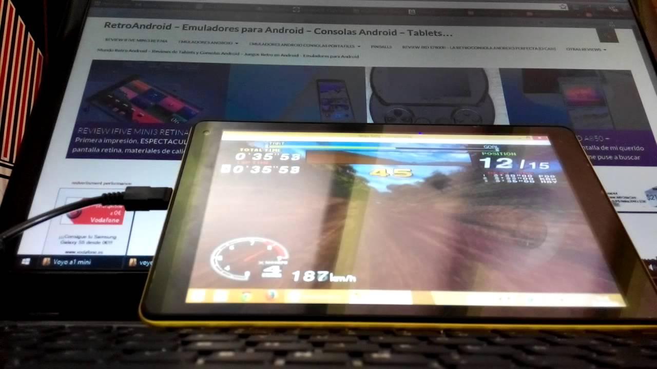 Emulador Sega Model 2 - Sega Rally - Intel Bay Trail Z3735D/Z3740 - Voyo A1  mini