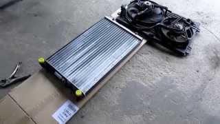 Škoda octavia 1,6 75kw - výměna chladiče