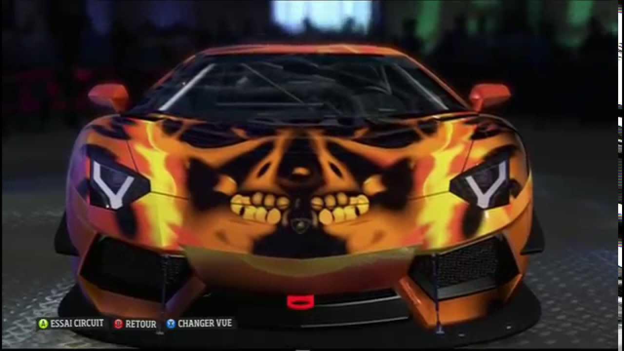Car Design Forza Horizon Lamborghini Aventador Lp700 4